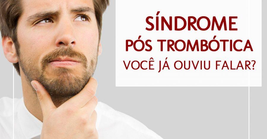 Síndrome pós trombótica